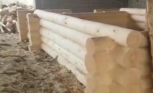 Сруб бани 6х4 + 2 метра терраса