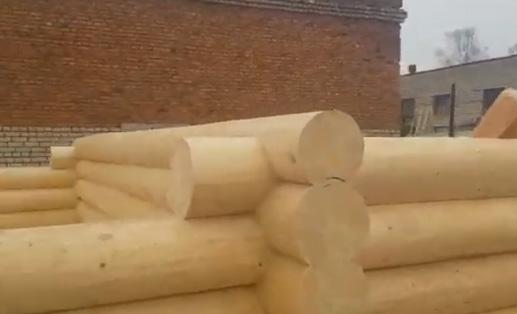 Сборка сруба 5х6 в чашу + 3 метра под террасу (1 метр высота)