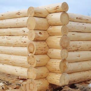 Используем отборный экологически чистый хвойный лес диаметром от 24 до 60 см (сосна и ель)