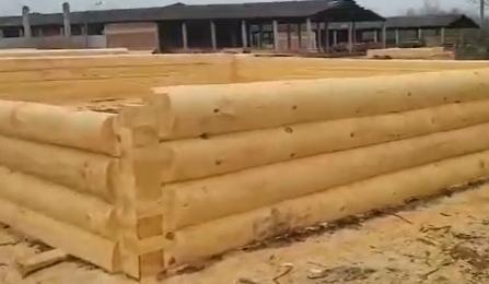 Сруб для большого дома! Размер 11 на 12 метров, рубка «в лапу»