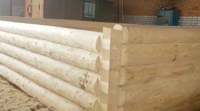 Сруб бани 5 на 5 метров — вид рубки «в лапу»