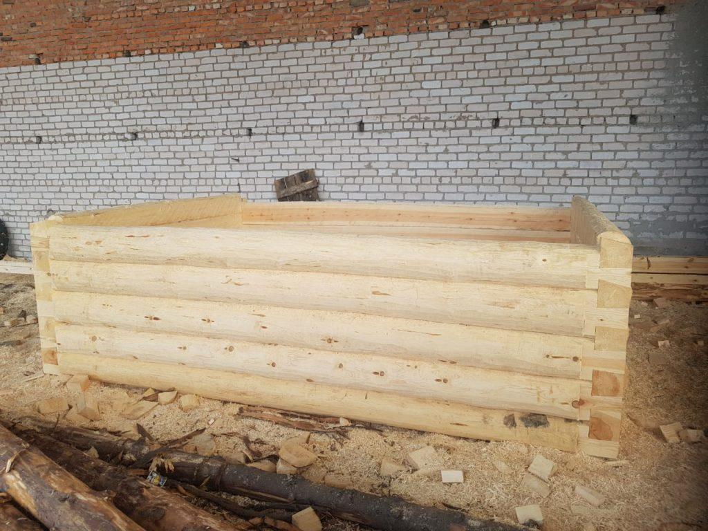 Рубленная баня 3 на 4 метра