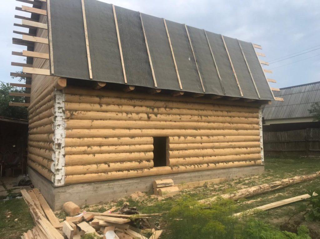 Возведи двухэтажный дом 6×8 «в лапу» полулафет